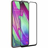 Скло 5D Samsung Galaxy A40 (2019) Чорне