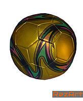 М'яч футбольний клубний №5 (кольори в асортименті), фото 1