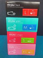 Перчатки нитриловые неопудренные  Nitrylex