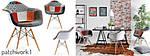Дизайнерське крісло 1 шт MPA WOOD TAP, фото 2