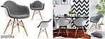 Дизайнерське крісло 1 шт MPA WOOD TAP, фото 6