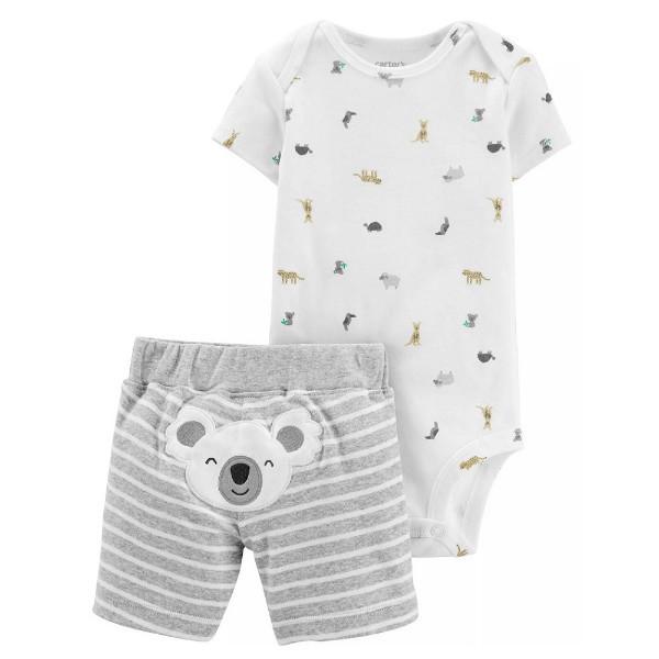 Набор бодик и шорты для мальчика Carters коала