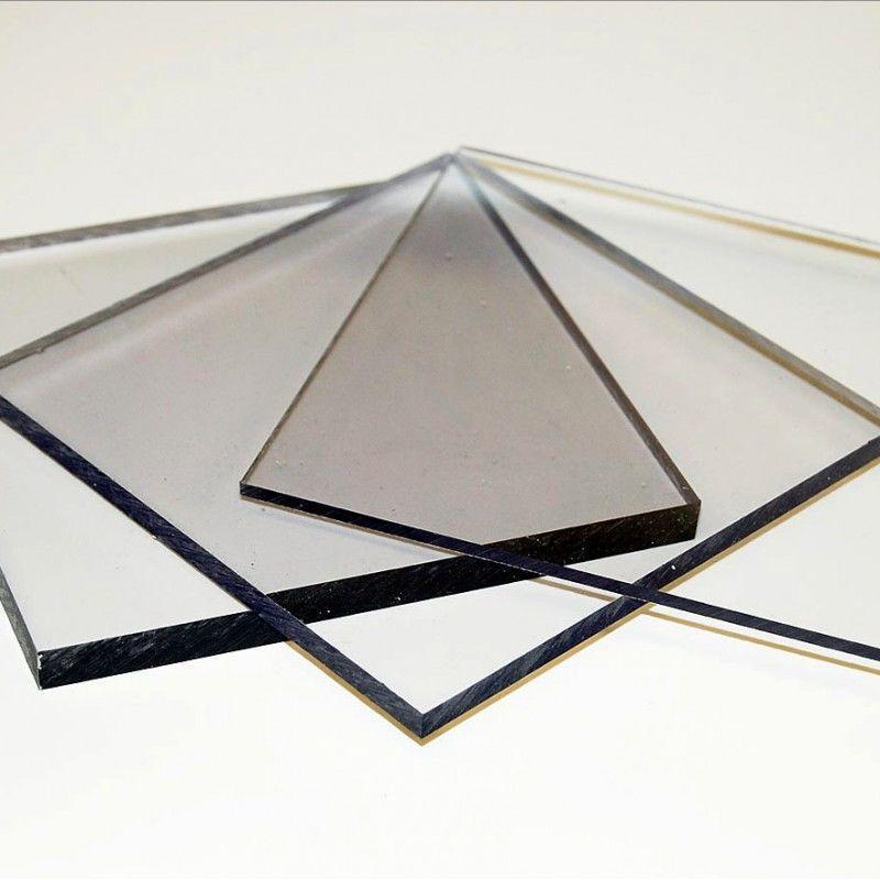 Поликарбонат монолитный 2 мм Прозрачный