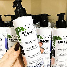 Восстанавливающая маска для волос HiLLARY Hair Mask Bamboo, 200 ml - 132814