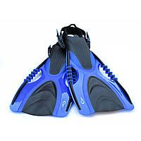 Ласты для плавания, дайвинга, снорклинга YF88 L/XL BLUE (41-44). Высокое качество!