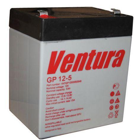 Аккумулятор AGM - 5 Ач, 12В гелевый Ventura gp12-5