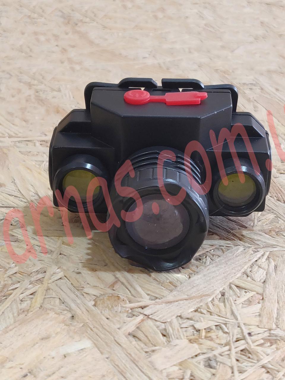 Аккумуляторный налобный фонарь KX1805