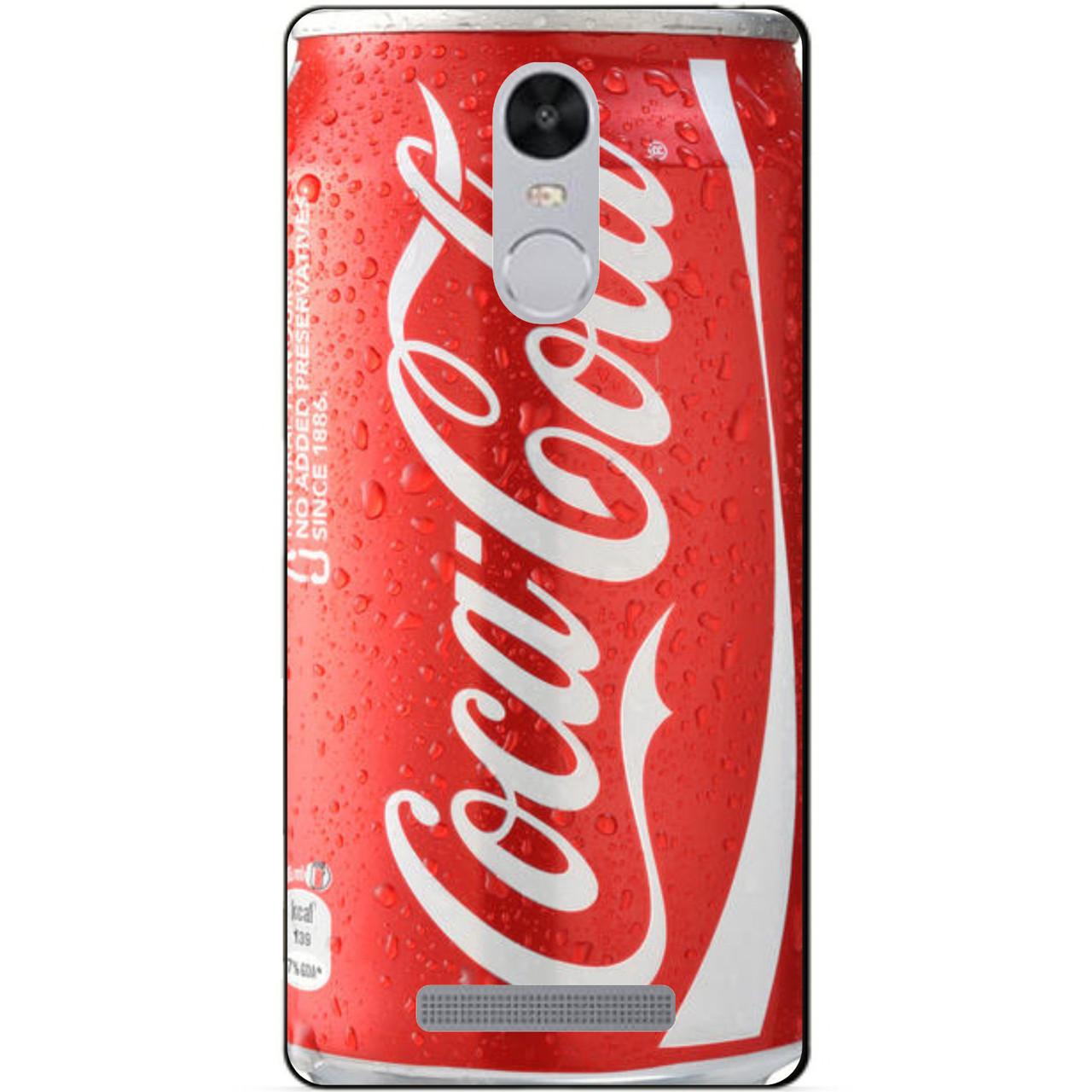 Силиконовый чехол для Xiaomi Redmi Note 3 с рисунком Coca-Cola