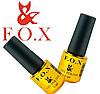 Гель-лак FOX Pigment № 121 (синий с серебряным глиттером), 6 мл, фото 2