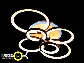 Люстра потолочная 8022/6 BK LED 3color Люстра с пультом управления