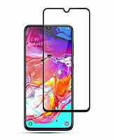 Защитное стекло Samsung Galaxy A70 (2019) 5D Черное
