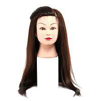 Манекен с искусственными термо волосами (гофре)