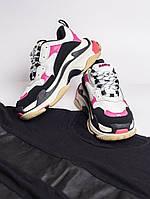 Женские кроссовки  в стиле Balenciaga Triple S (Топ качество)