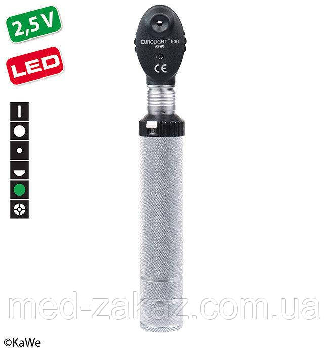 Офтальмоскоп KaWe EВРОЛАЙТ E36 LED / EC 2,5 В