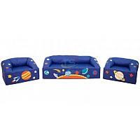 Детский комплект игровой мебели Вселенная (диван + кресла), фото 1