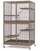 Вольер клетка для обезьян,шиншилл, белок, грызунов 94*63*158(146)см.