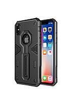 Чехол защитный противоударный Nillkin Defender II Case iPhone X/Xs Black