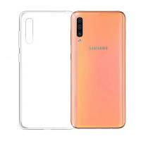 Прозрачный силиконовый чехол Samsung Galaxy A70 (2019)