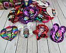 Детские резинки для волос с пайетками LOL микс модели и цвета 24 шт/уп., фото 5