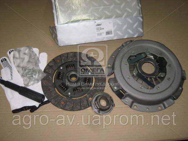 Сцепление (2121-1601000) ВАЗ 2121 (диск нажим.+вед.+подш.) (RIDER)