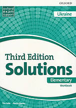 Solutions Third 3rd Edition Elementary WorkBook (UA)