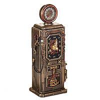 Настольные часы, статуэтка Veronese Бензоколонка Стимпанк 77285A4