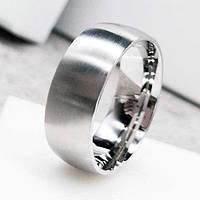 Обручальное кольцо из медицинской стали 8 мм матовое 138886