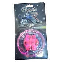 Светящиеся шнурки - Розовый