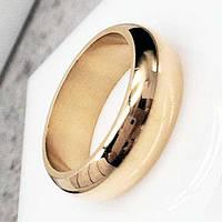 Обручальное кольцо из медицинской стали округлое классика 6 мм 137447
