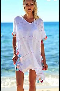 Женская легкая платье-туника S-M-L-XL