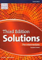 Solutions Third 3rd Edition Pre-Intermediate Student's Book