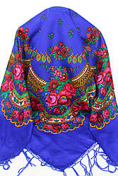 Платок украинский народный (120х120) код 630008