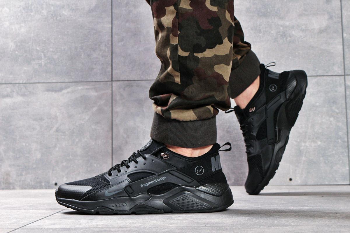 Кроссовки мужские Nike Air Huarache, черные (16221) размеры в наличии ► [  42 43 44 45 46  ]