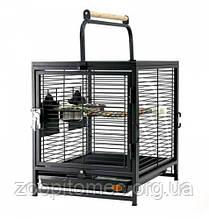 Клетка переноска для мелких, средних,больших попугаев 48*38*46 см