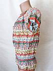 Футболки блузы женские хлопок+сатин р.44-48. От 4шт по 49грн, фото 6