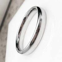Обручальное кольцо из медицинской стали 4 мм округлое 128660