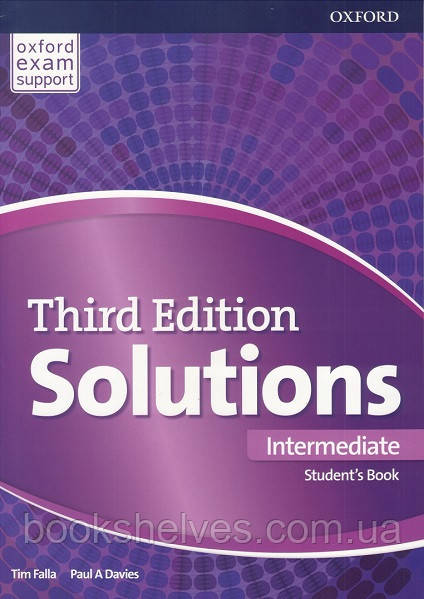 Solutions Third 3rd Edition Intermediate Student's Book