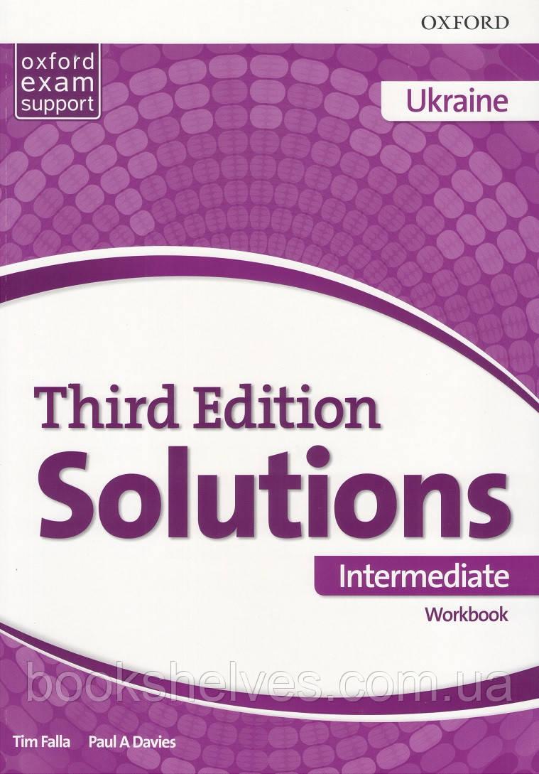 Solutions Third 3rd Edition Intermediate WorkBook (UA)
