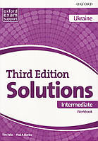 Solutions Third 3rd Edition Intermediate WorkBook (UA)