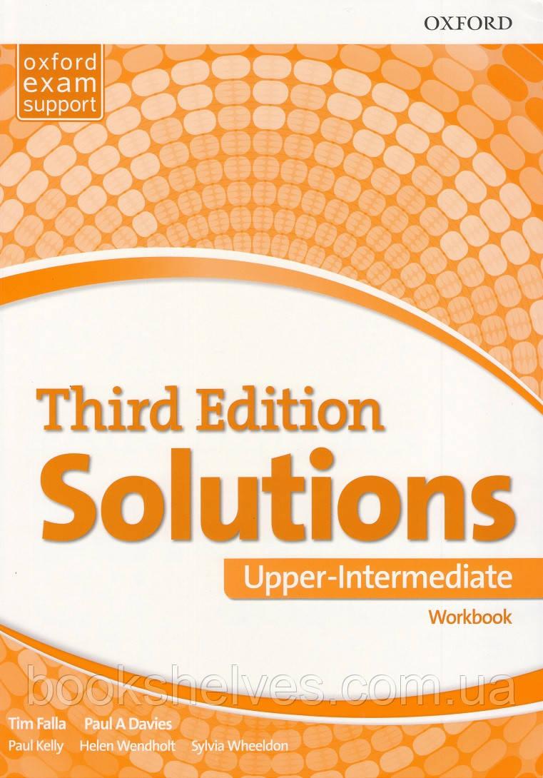Solutions Third 3rd Edition Upper-Intermediate WorkBook