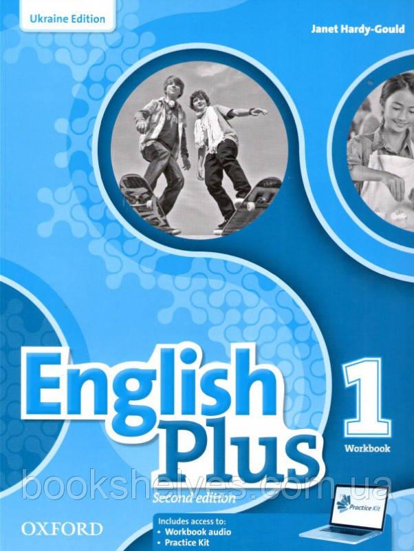 English Plus 2nd Edition 1 WorkBook + Practice Kit (UA)