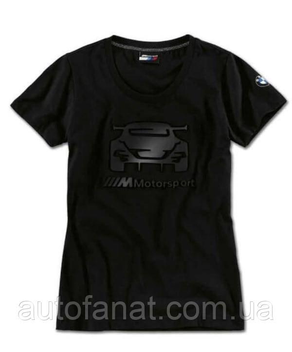 Оригинальная женская футболка BMW M8 GTE Motorsport T-Shirt, Ladies, Black (80142461066)