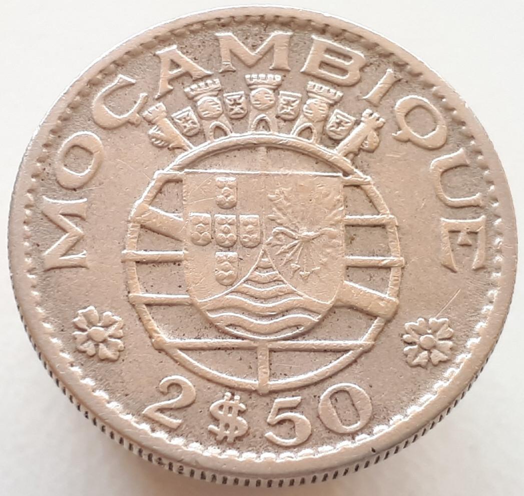 Португальский Мозамбик 2.5 эскудо 1965