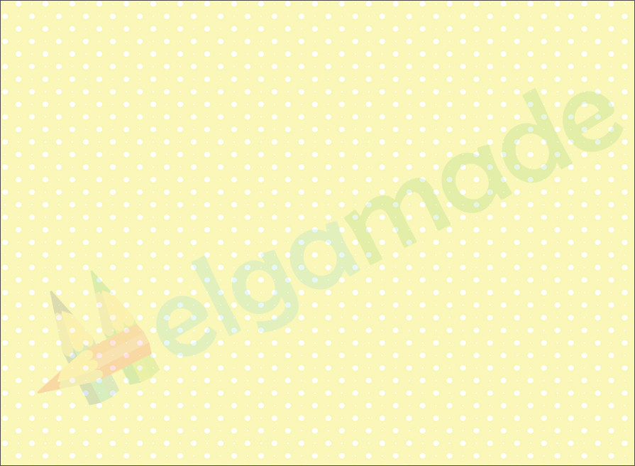Фетр з принтом ГОРОШОК НА БЛІДО-ЖОВТОМУ, 22x30 см, корейська жорсткий 1.2 мм