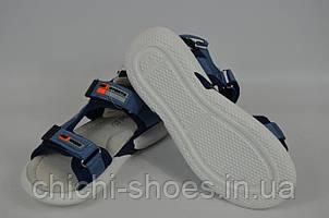 Сандалии детские текстиль голубые Djong golf1885-17