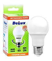 Лампа светодиодная DELUX BL60 7Вт 4100K Е27 белый, фото 1