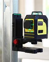 Лазерный нивелир Firecore 3D (премиум версия) ЗЕЛЕНЫЙ ЛУЧ--->50м+ КРОНШТЕЙН В ПОДАРОК