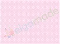 Фетр с принтом ГОРОШЕК НА БЛЕДНО-РОЗОВОМ, 22x30 см, корейский жесткий 1.2 мм