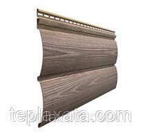 Сайдинг блок-хаус DOCKE Wood Slide, D4,7T кедр (0,878 м2)