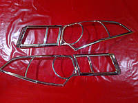 Хром накладки на стопы Honda Accord 8, Хонда Аккорд 8 седан
